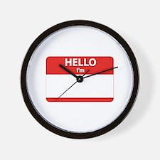 Hello I'm ... Wall Clock