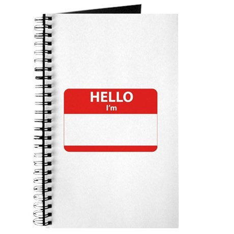 Hello I'm ... Journal