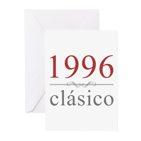 Classic 1996 Greeting Cards (Pk of 20)
