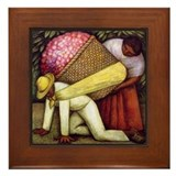 Diego rivera Framed Tiles