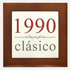 Classic 1990 Framed Tile