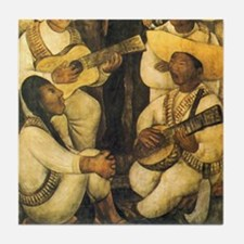Part 2 of 2 Diego Rivera Mexican Tile Coaster