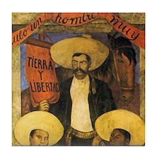 Part 1 of 2 Zapata Mexican Mosaic Tile Coaster