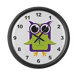 Owl clock Giant Clocks