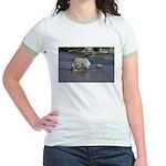 Follow Me Jr. Ringer T-Shirt