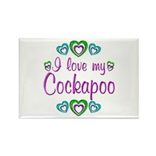 Love My Cockapoo Rectangle Magnet