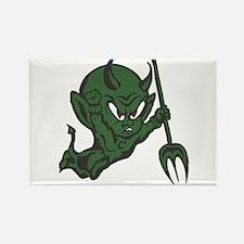 Green Imp Rectangle Magnet