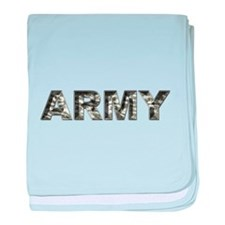 US ARMY Camo baby blanket