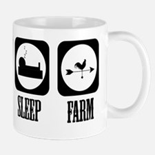 Eat Sleep Farm! Mug