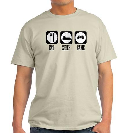 Eat Sleep Game! Light T-Shirt
