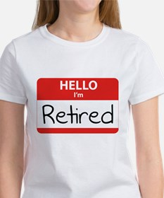 Hello I'm Retired Tee
