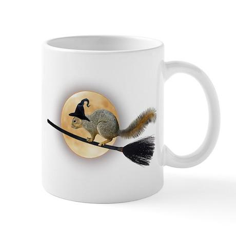 Witch Squirrel Mug