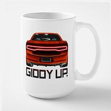 Charger - Giddy Up Large Mug