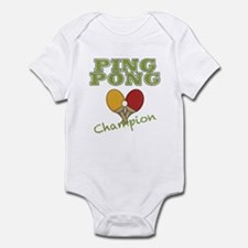 Ping Pong Champ Infant Bodysuit