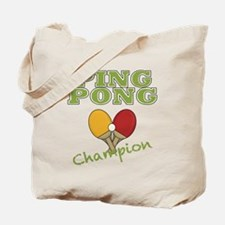 Ping Pong Champ Tote Bag