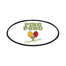 Ping Pong Champ Patches