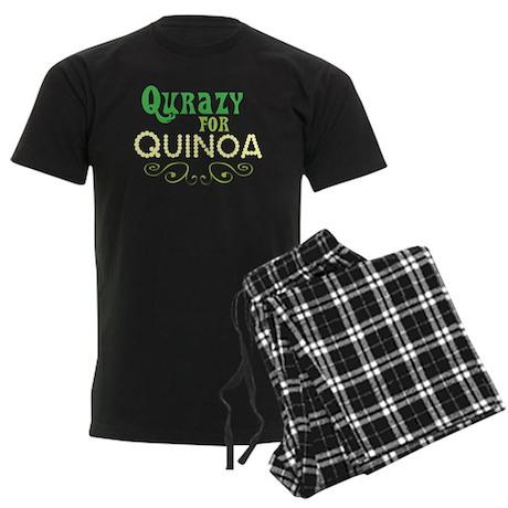 Qurazy for Quinoa Men's Dark Pajamas