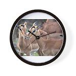 Impala Love Wall Clock