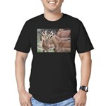 Impala Love Men's Fitted T-Shirt (dark)