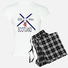 Scotland Football 500 miles Pajamas