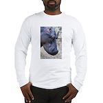 Hippo Profile Long Sleeve T-Shirt