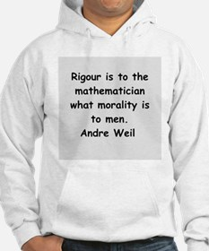 Andre Weil quotes Hoodie