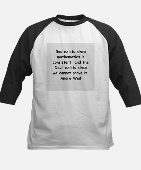 Andre Weil quotes Kids Baseball Jersey