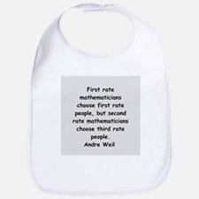 Andre Weil quotes Bib