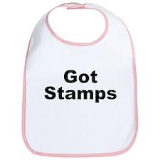 Got Stamps Bib