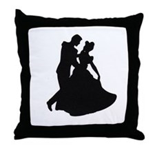 Cute Belly Throw Pillow