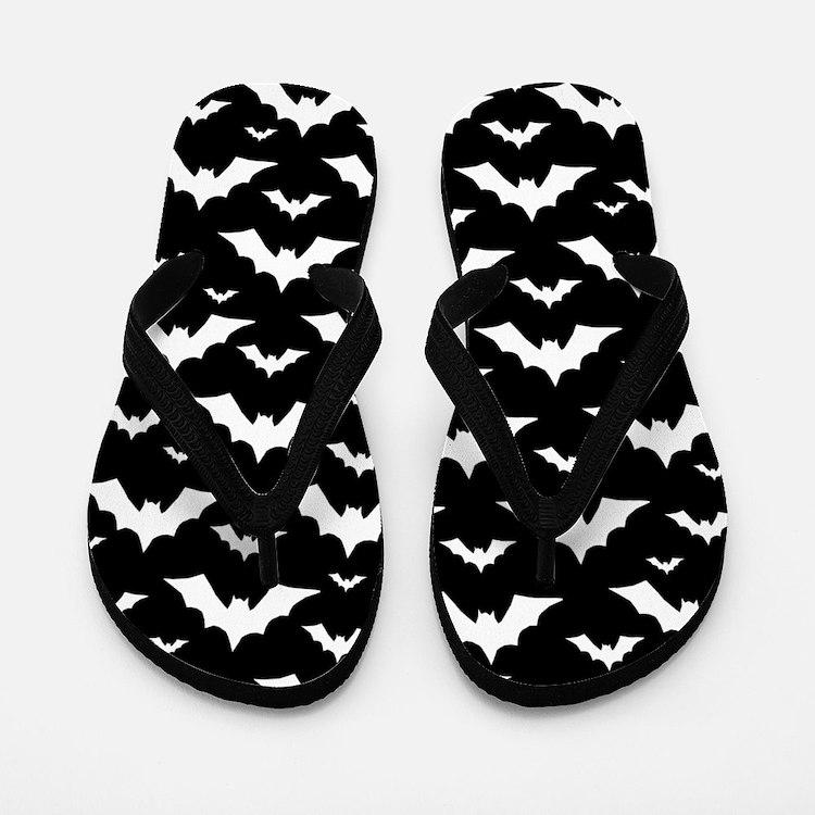 Vampire Bats Flip Flops