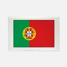 The Flag of Portugal Rectangle Magnet (100 pack)