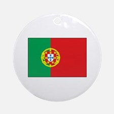 The Flag of Portugal Ornament (Round)