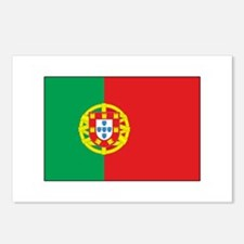 The Flag of Portugal Postcards (Package of 8)