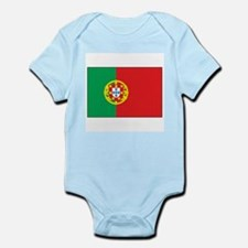 The Flag of Portugal Infant Creeper
