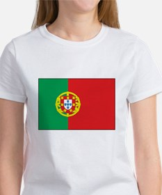 The Flag of Portugal Women's T-Shirt