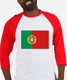 The Flag of Portugal Baseball Jersey