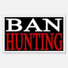 Ban Hunting Decal