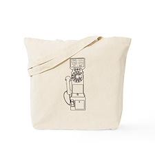 Vintage Pay Phone Tote Bag