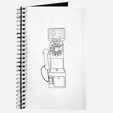 Vintage Pay Phone Journal