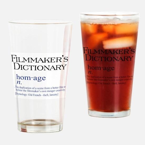 Filmmaker's Dictionary: Homag Drinking Glass