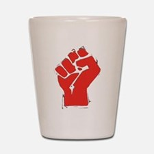 Raised Fist Shot Glass