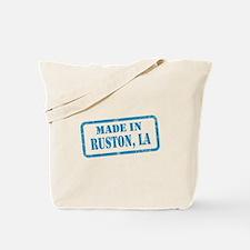 MADE IN RUSTON Tote Bag