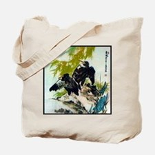 Cute Asian art Tote Bag