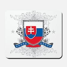 Slovakia Shield Mousepad