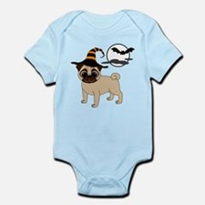 Bewitched Fawn Pug Infant Bodysuit