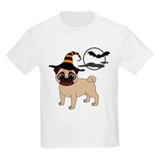 Bewitched Fawn Pug T-Shirt