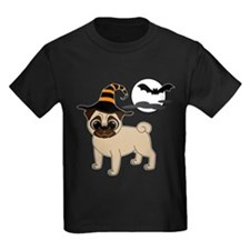 Bewitched Fawn Pug T