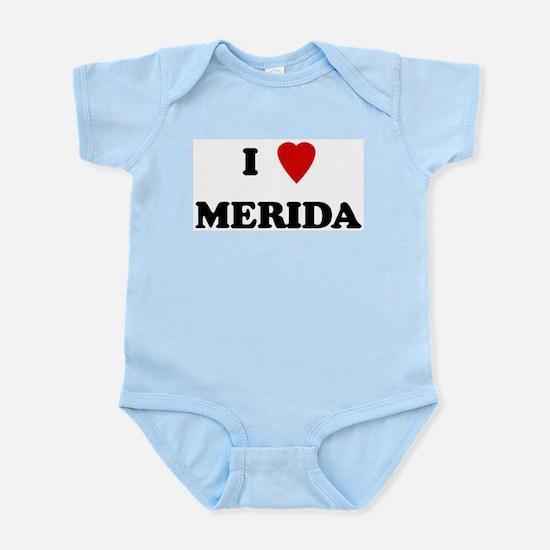 I Love Merida Infant Creeper