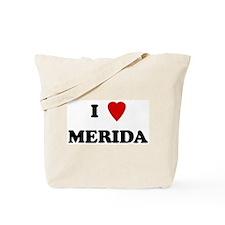 I Love Merida Tote Bag